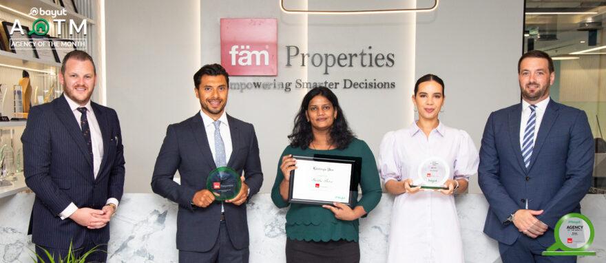 AOTM fam properties June 2021