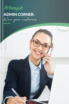 Admin Corner: Wow Your Customer